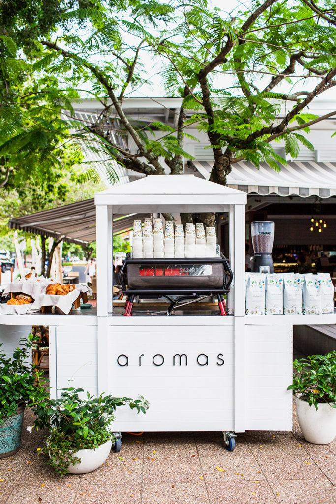 "<p class=""caption-heading"">Food  Photography</p> Aromas Noosa Cafe"