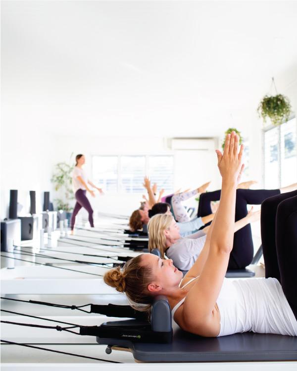 Noosa yoga studio branding phtoography